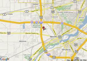 Maumee Ohio Map by Map Of Residence Inn Toledo Maumee Maumee
