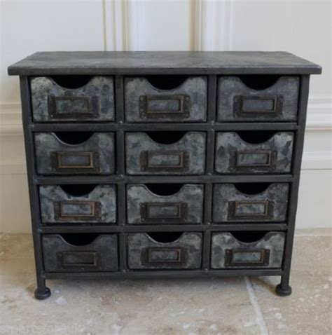 Vintage Storage Drawers by Vintage Industrial Metal Cabinet With 12 Drawers Retro