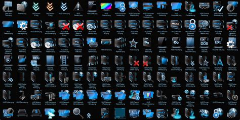 icon themes for windows 7 hood blue icon pack 7tsp for windows 7 free download mehran