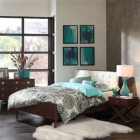 pecan bedroom furniture ink ivy 174 cosmo pecan wood bedroom furniture collection