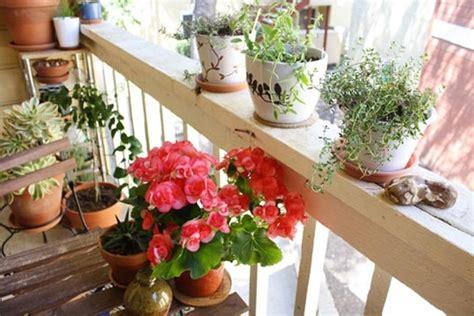 Balcony Flowers by Flowers On A Small Balcony Decoist
