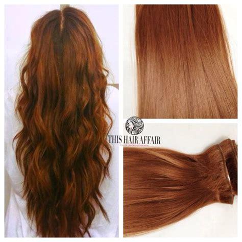 auburn hair extensions clip in hair light auburn brown 22 quot inch clip in hair