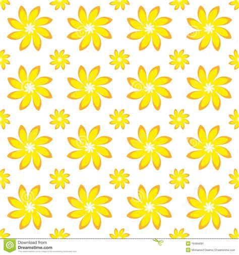 yellow floral pattern yellow flower seamless pattern stock image image 16484691