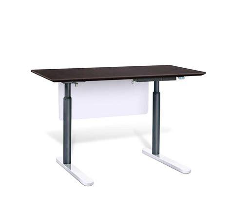 electric stand up desk by unique furniture 7300 esp desks
