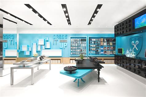 Modern Commercial Interior Design by Visually Stunning Store Concept In Shenzhen China 171 Adelto Adelto