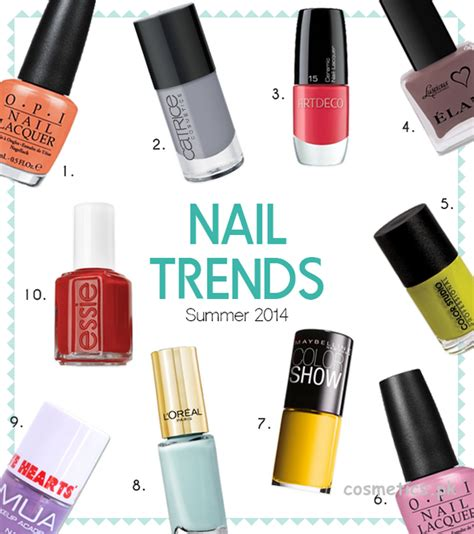 trend nail color 2014 nail color trends 2014 for summer