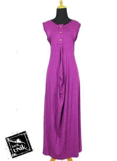desain gamis tanpa lengan baju muslim gamis wide dress kaos tanpa lengan gamis