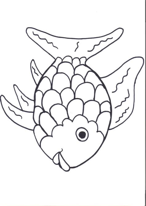 fish coloring pages for preschool rainbow fish printables august preschool themes child