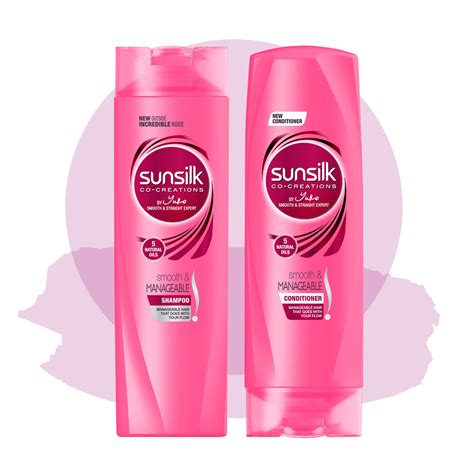 best sunsilk shoo hair products shoo conditioners smooth and