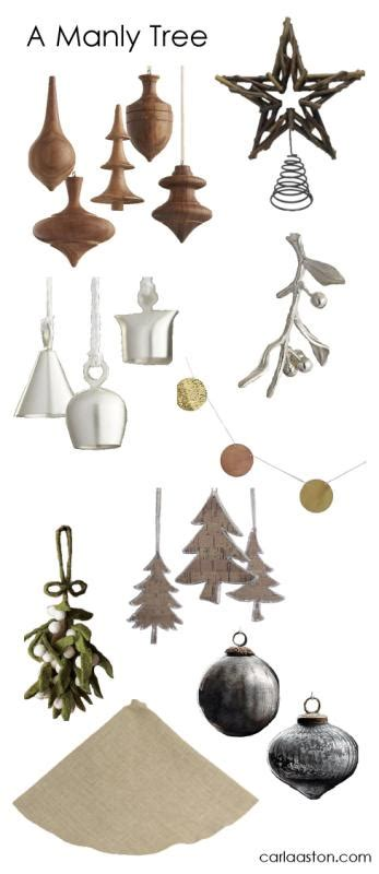 10 must have masculine christmas tree decorations designed