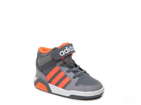 toddler basketball shoes adidas neo bb9tis toddler basketball shoe grey orange boys