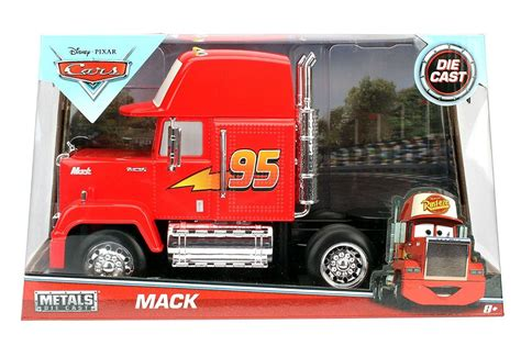 disney truck disney pixar cars mack truck 1 24 scale mack trucks