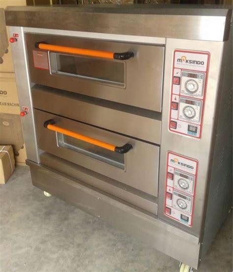 Oven Maksindo jual mesin oven roti gas 2 rak 4 loyang go24 di semarang