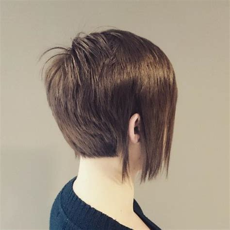 long layered pixie back front 40 short bob hairstyles layered stacked wavy and angled