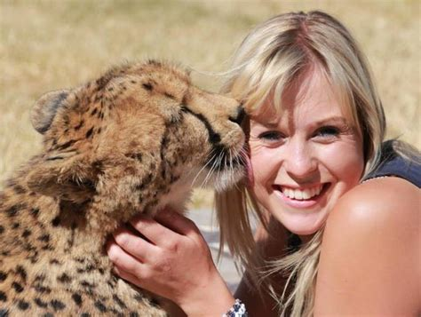 breed representative species this lucky is best friends with a cheetah in south africa