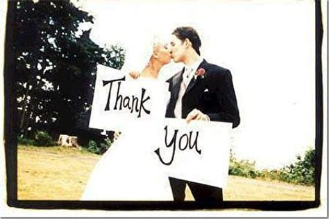 Wedding Holding Thank You Sign by Brides Helping Brides Does Anyone Pics Of Brides