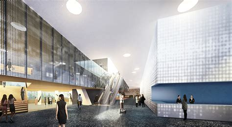 designboom interior open architecture reveals proposal for pudong art museum