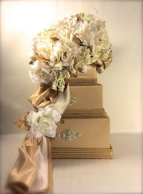 Wedding Card Lock Box by Wedding Card Box Gold Ivory Wedding Card Holder