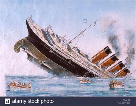 sinking of the lusitania 9 1915 5 7 a1 1 b sinking of the lusitania watercolour