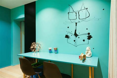 Blue Wall Stickers