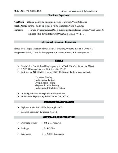 Resume Format Exles For by 21724 Copy Of A Resume Format 2 Ken Radcliffe S Copy