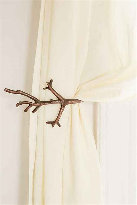 branch curtain tie back branch curtain tie back urban outfitters