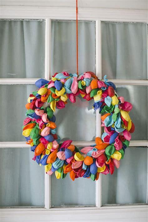 guirnalda de globos  decorar la entrada decoracion