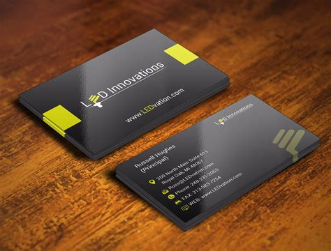 Led Business Cards