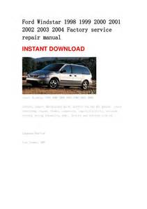 zywkoggsmmmwychen 1999 ford windstar repair manual