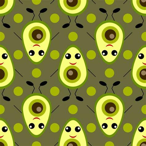 Avocado Pattern avocado pattern background vector free