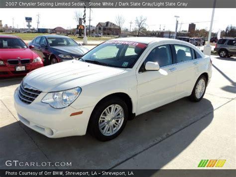 2007 Chrysler Sebring Limited by White 2007 Chrysler Sebring Limited Sedan