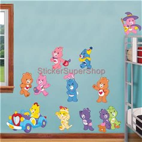 care wall stickers care bears 11 strickers decal removable wall sticker home