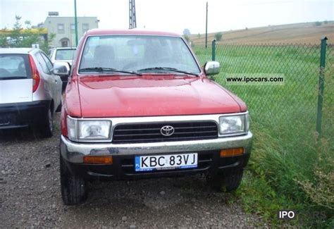 1993 Toyota Specs 1993 Toyota 4 Runner Diesel Car Photo And Specs