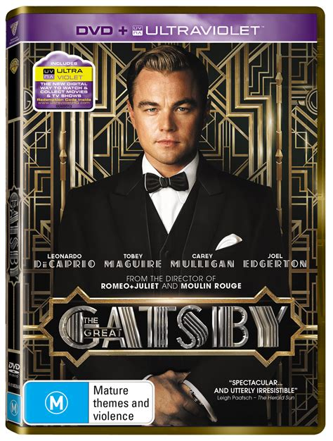 Great Gatsby Giveaways - the great gatsby dvd prize pack giveaway rrp 200 redcliffe style