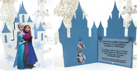 Frozen  Ee  Birthday Ee   Party Invitations Two Sisters