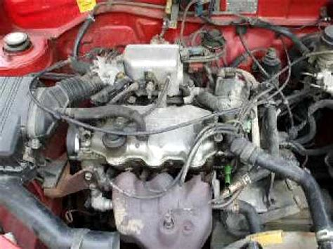 daihatsu charade g 200 engine daihatsu charade engine youtube