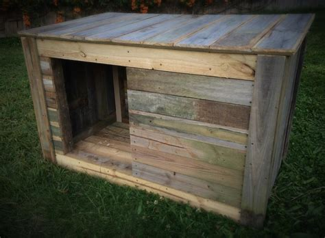 how make dog house diy pallet dog house pallet furniture