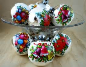 vintage mercury glass christmas ornaments help i