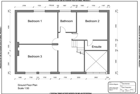 cad floor plans autocad apartment drawing