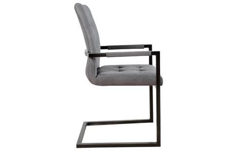 Stuhl Mit Armlehne Grau by Design Freischwinger Stuhl Mit Armlehne Antik Grau Vintage