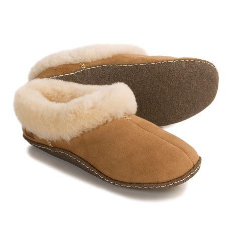 shearling slippers for sorel nakiska shearling lined slippers for 2609m