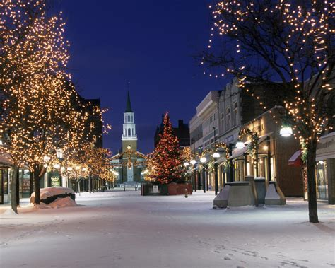 gallery snowy christmas town