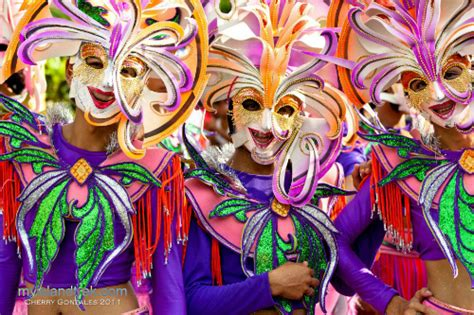 Maskara Pac smiles masskara festival as an invented tradition