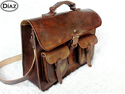 Rawhide Leather brown rawhide leather messenger laptop satchel bag bbc2bc