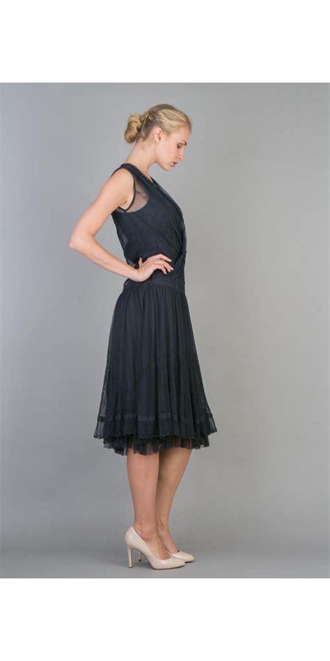 Natahua Dress nataya 40227 embroidered layered dress nataya dresses