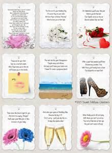 lifelong line poem bridal shower by sweetmelissacreation