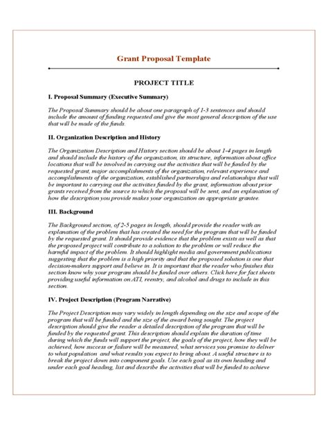 stron biz sle project proposal template