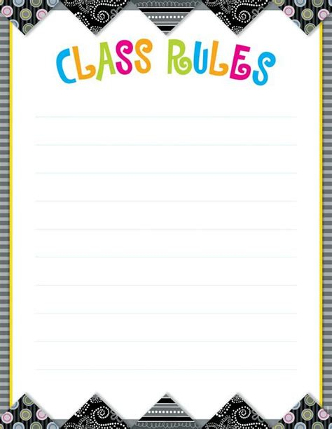 templates for the classroom class poster template search lesson