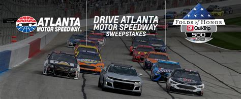 Speedway Sweepstakes - drive atlanta motor speedway sweepstakes win tickets to folds of honor quiktrip 500