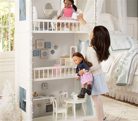 pottery barn kids doll house woodbury g 246 tz dollhouse pottery barn kids